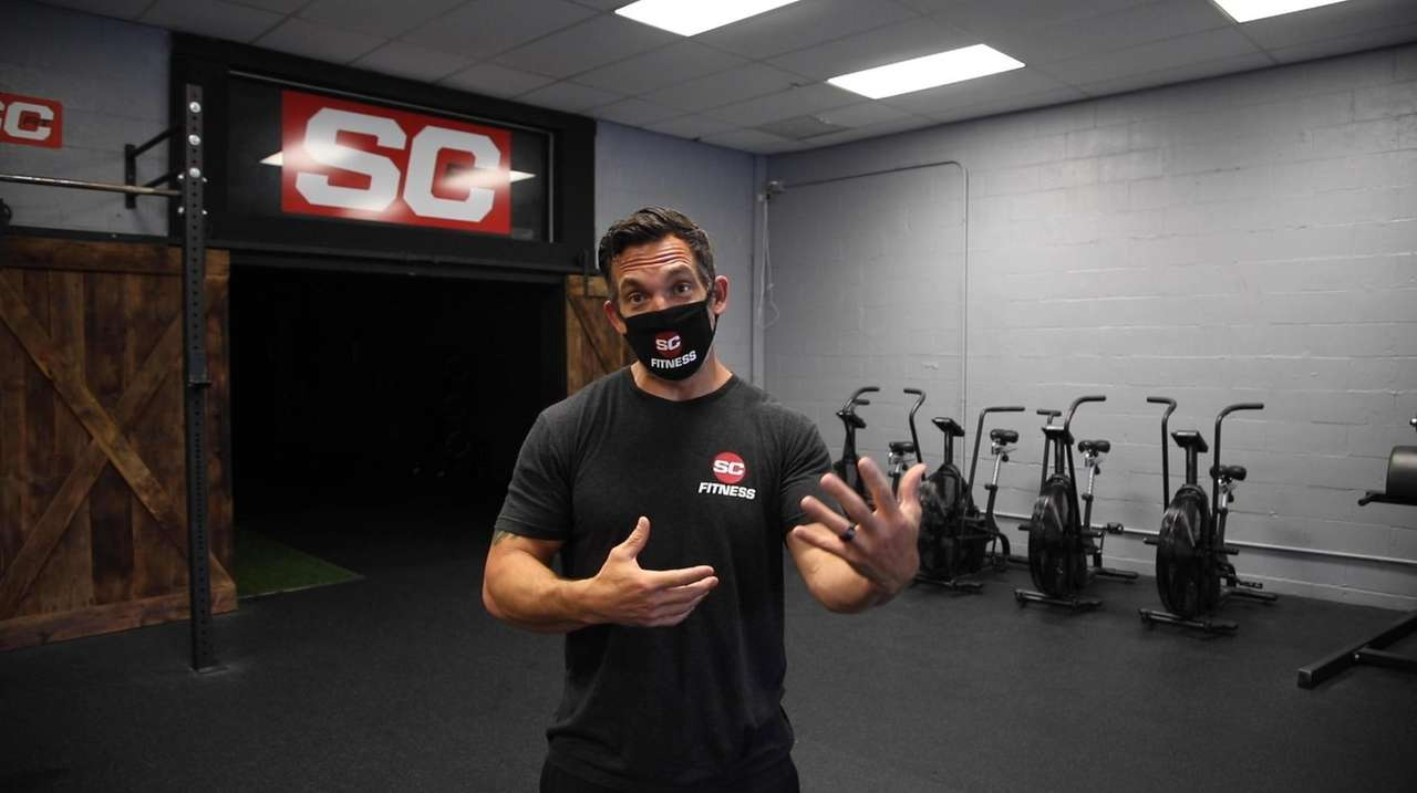 Charles Cassara, owner of SC Fitness, which has