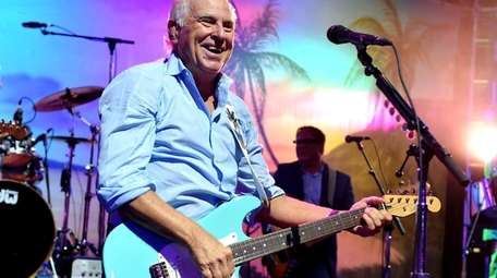 Jimmy Buffett performs at the after party for