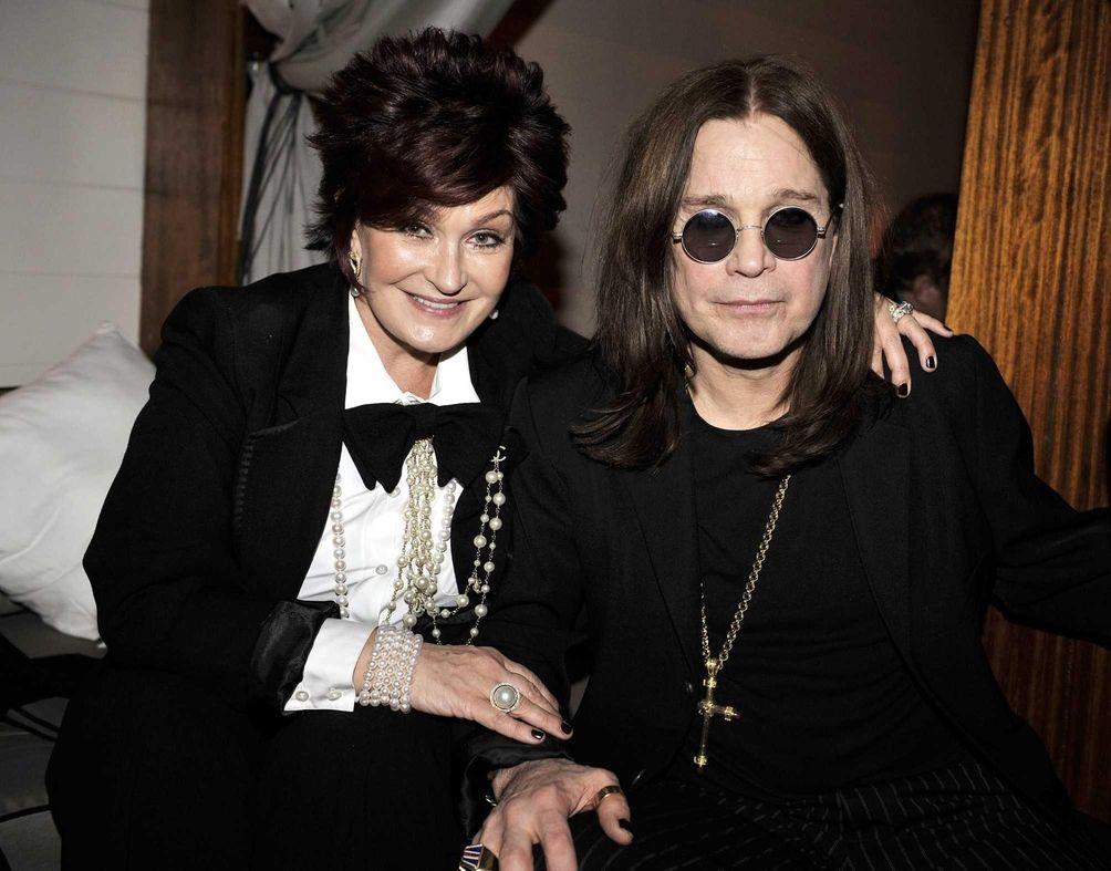 Ozzy and Sharon Osbourne: The former Black Sabbath