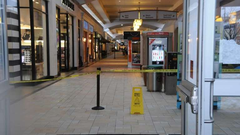 View of the closed Smith Haven Mall in