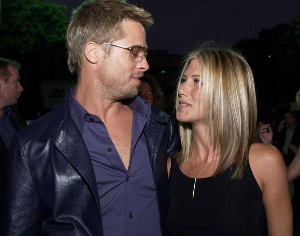 Brad Pitt and Jennifer Aniston: The A-list movie
