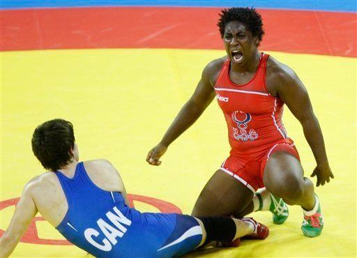Miller won Olympic bronze in women's freestyle 63-kg