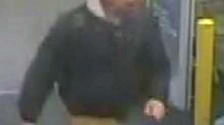 Suffolk County police released photos of a suspect