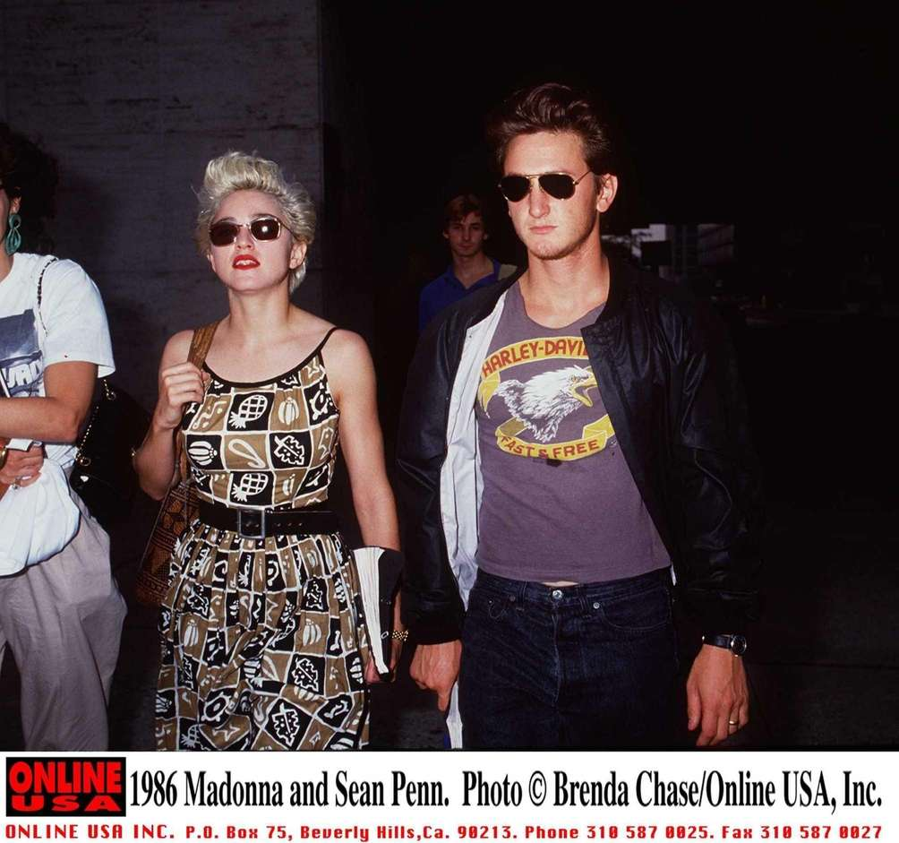 Madonna and Sean Penn: The boundary-pushing pop star