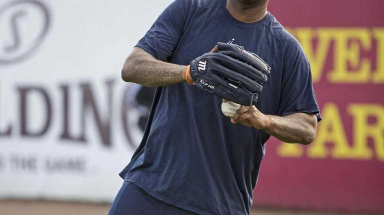 Yankees pitcher CC Sabathia throws the ball during