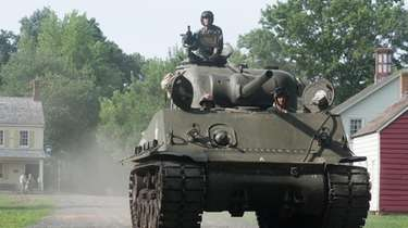 Vintage military vehicles will be on display Saturday