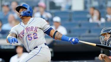 Yoenis Cespedes of the New York Mets at
