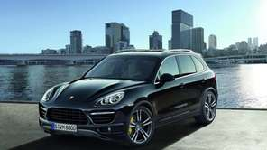 The 2013 Cayenne is the latest iteration of