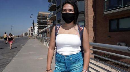 Alex Hastings, 18, of Long Beach, has her