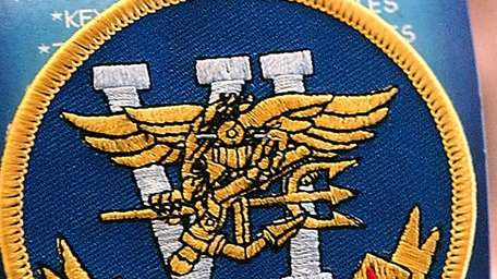 A U.S. Navy Seal Team Six patch on