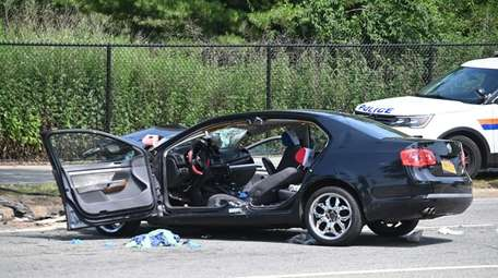 The driver died after his Volkswagen hit a