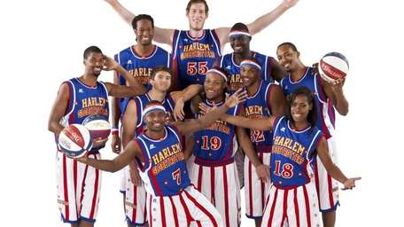 The Harlem Globetrotters play at Nassau Coliseum in