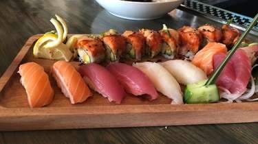 Sushi and sashimi at Bamboo, a revived Asian