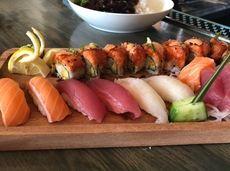 Sushi and sashimi at Bamboo, a revived Asian