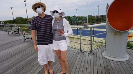 Thom and Alison Gencarelli, of Hastings on Hudson,