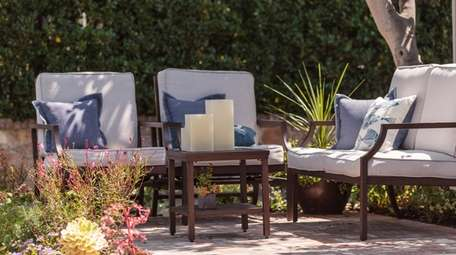 For best results, you should clean outdoor furniture