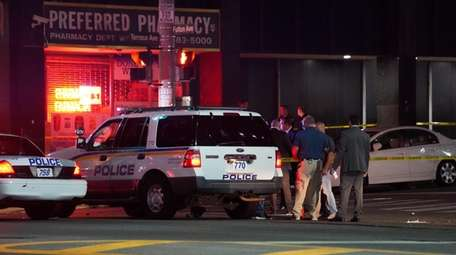Nassau County police investigate a deadly stabbing that