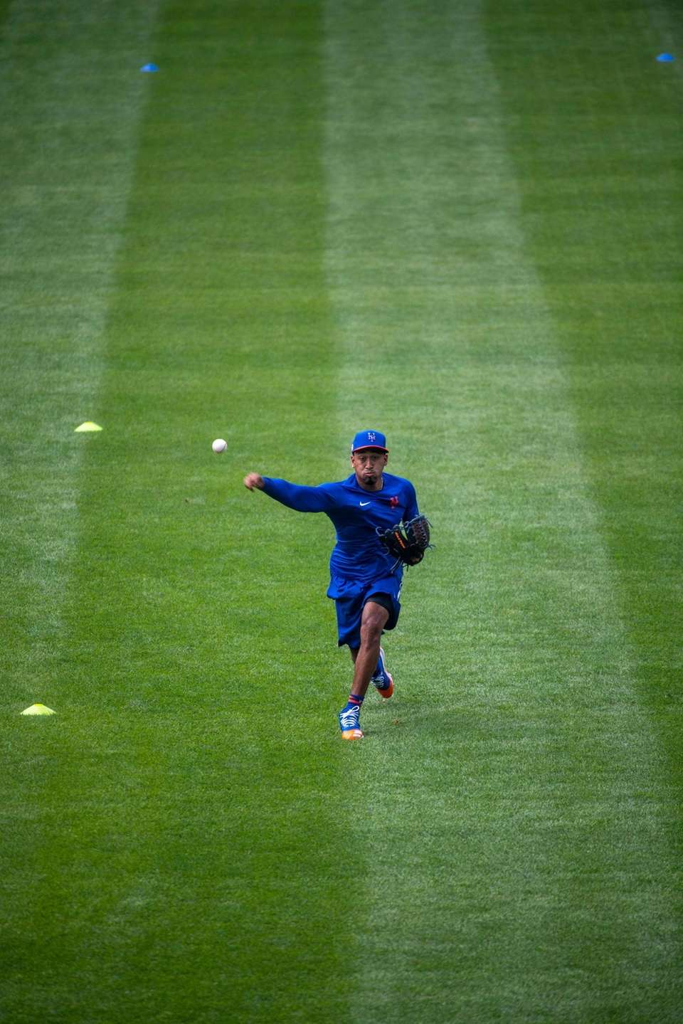 New York Mets pitcher Edwin Díaz during a