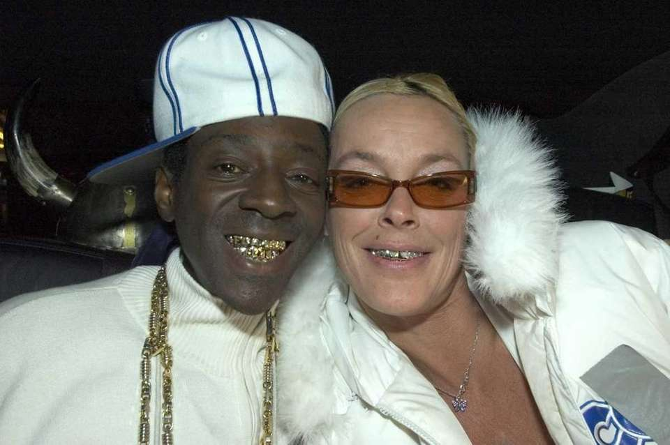 Rapper Flavor Flav and Sylvester Stallone's ex-wife, Brigitte