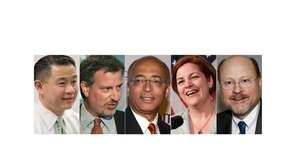 From Left: New York Mayoral candidates are John
