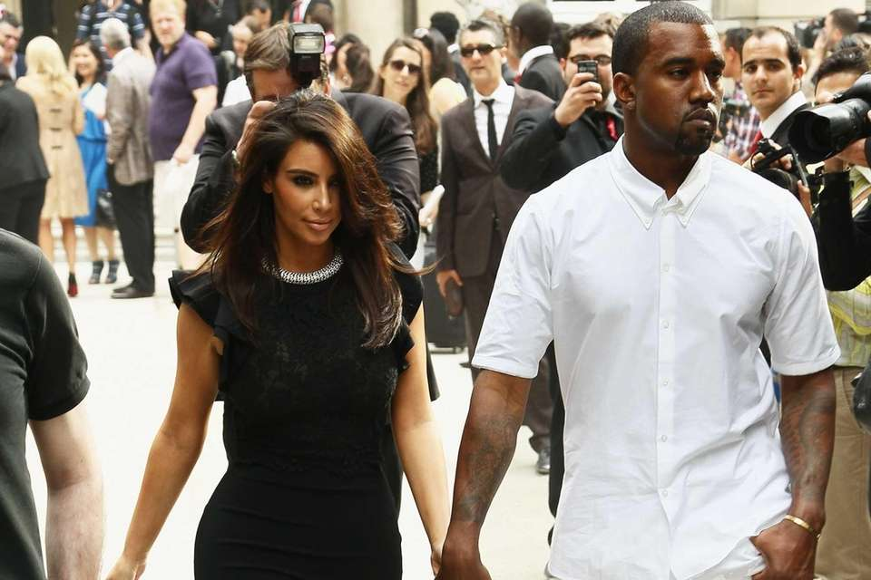 The couple made their relationship public when West