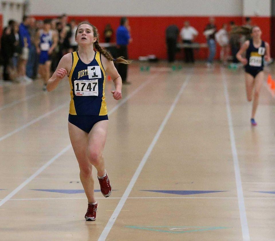 Northport's Brigid Brennan wins the girls 3000 meter