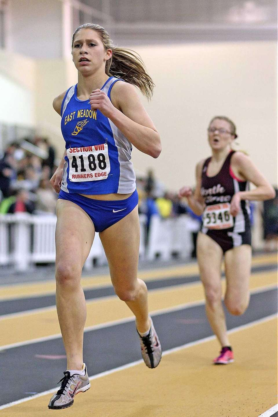East Meadow's Amanda Ashe takes first place in
