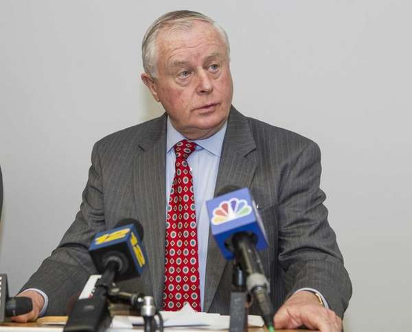 Suffolk County District Attorney Thomas Spota. (Jan. 29,