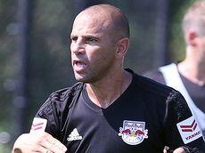 Red Bulls coach Chris Armas at the club's