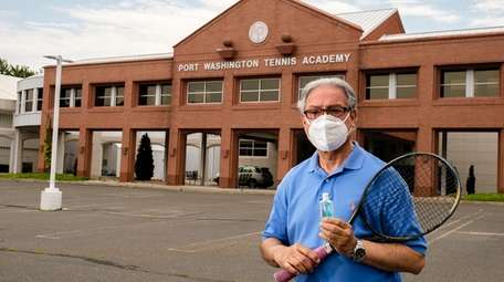 Manny Iqbal, Director of Tennis at Port Washington