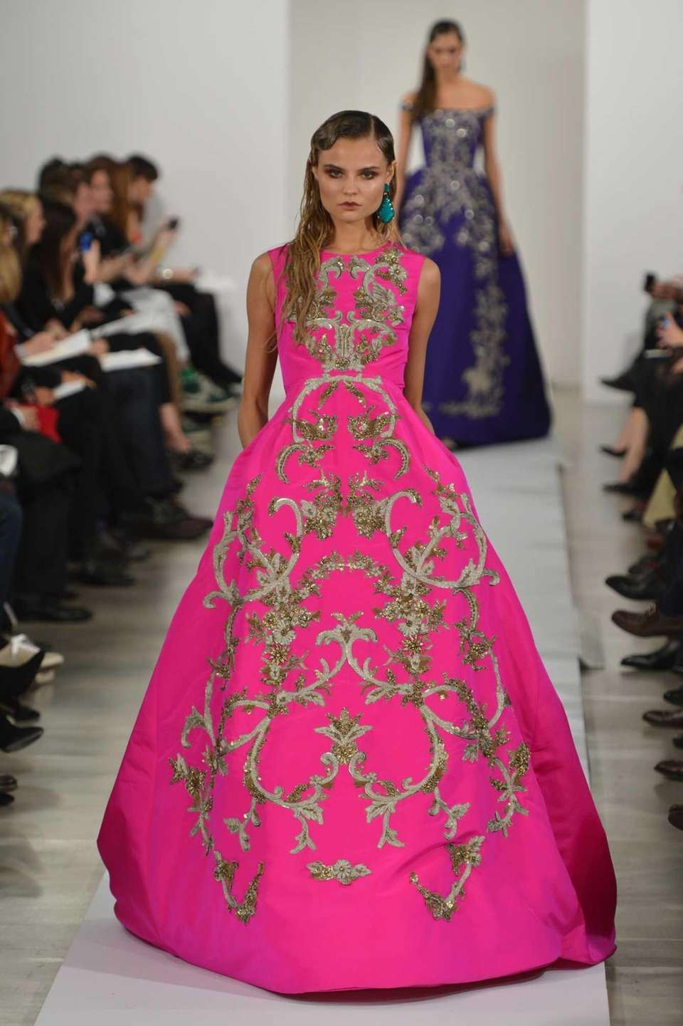 At Oscar de la Renta's Fall 2013 show,