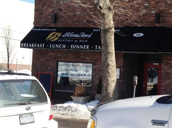 BlonDee's Bistro in Huntington has closed.