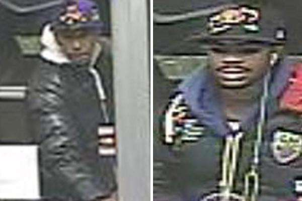 Police have released photos of suspects wanted in