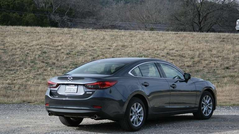 One of the 2014 Mazda6's prettiest aspects is