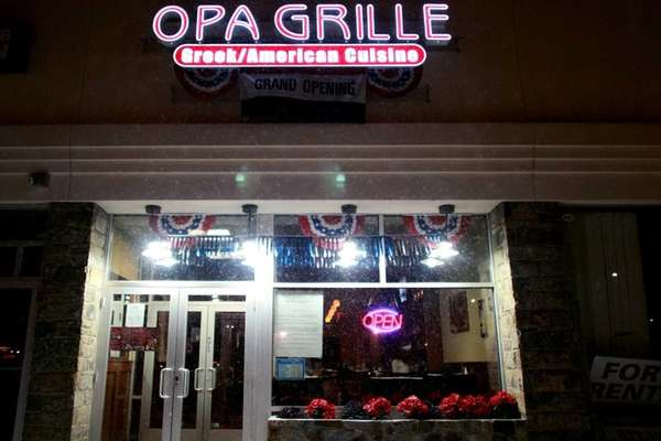 Opa Grille in Williston Park. (Jan. 25, 2013)