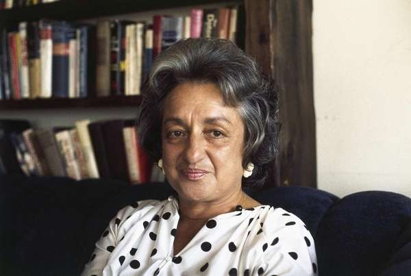 Betty Friedan, feminist spokeswoman shown in 1974.