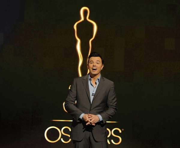 Oscar host Seth MacFarlane presents the Academy nominations