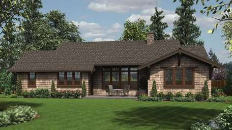This rendering depicts a home style that could