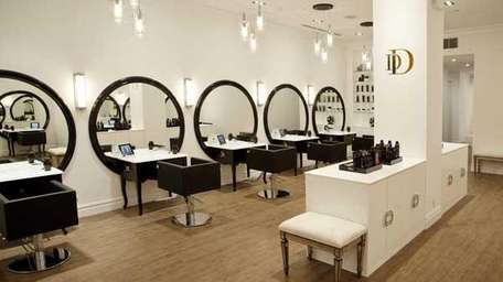 The new DreamDry salon in the Flatiron District,