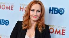 Author J.K. Rowling posted more than a dozen