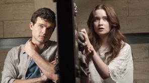 Alden Ehrenreich as Ethan Wate and Alice Englert