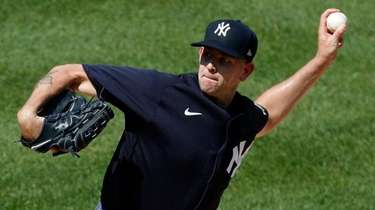 James Paxton of the Yankees pitches from the