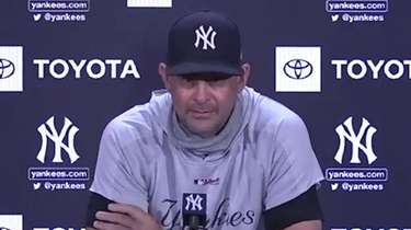 The Yankees on Sunday talked about getting ready