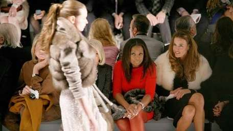 Kelly Bensimon, right, and Star Jones at the