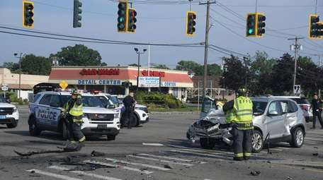 The East Farmingdale Fire Company responded to two