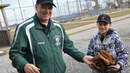 Island Park Little League president Andrew Barwicki, 45,