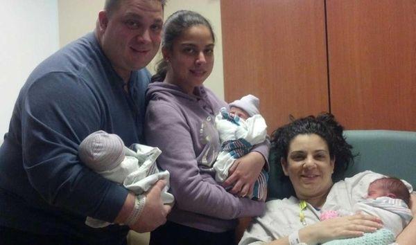 Joseph Maggio, 37, Kristina Maggio, 14, and Susanne