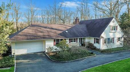 Priced at $724,999, this four-bedroom, 4½-bathroom farm ranch