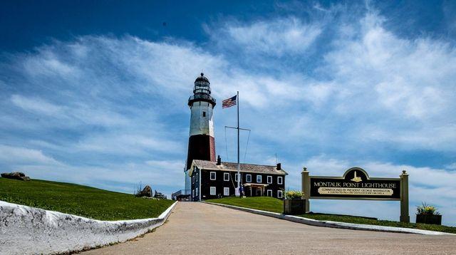 The Montauk Lighthouse on June 14, 2019.