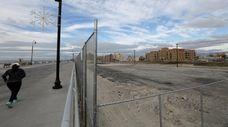 The Superblock lot between Long Beach and Riverside